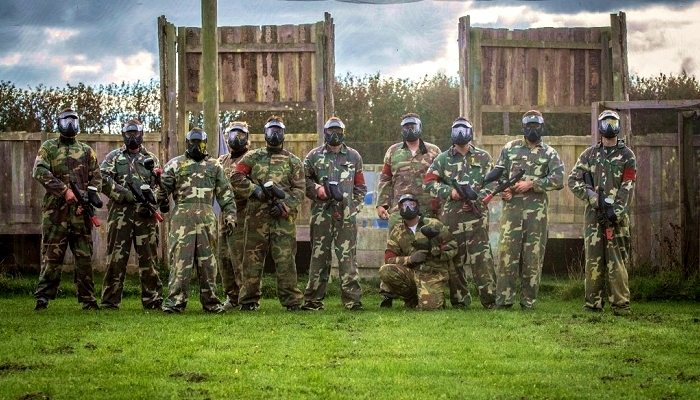 Paintball hold