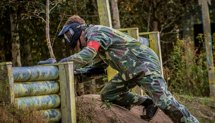 Paintball flygten