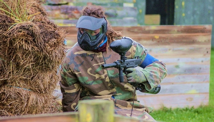 Paintball skyder